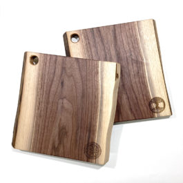 Small Black Walnut Charcuterie Board