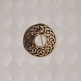 Circle-Knot Brooch - J-BB013